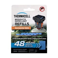 Thermacell Thermacell Backpacker Mat-Only 48 Hour Refills Image