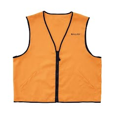 The Allen Co Deluxe Blaze Orange Hunting Vest Image