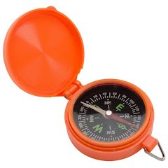 The Allen Co Pocket Compass with Lid Image