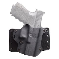 Blackpoint Leather Wing OWB Right Handed Holster (Glock 17, 22, 31) Image