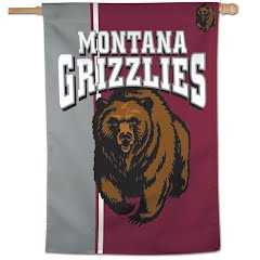 Wincraft University of Montana Grizzlies Vertical Flag Image