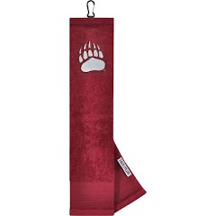 Wincraft University of Montana Dual-Textured Golf Towel Image