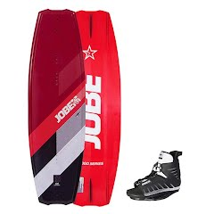Jobe Sports Logo Series 138 Wakeboard and Unit Bindings Image