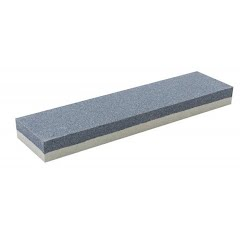 Smith's Abrasives 8 Inch Dual Grit Combination Sharpening Stone Image