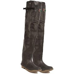 Itasca Gander Mountain Pro Waterfowl Rubber Hip Wade Boots Image