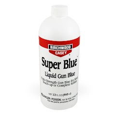 Birchwood Casey Super Blue Liquid Gun Blue (32oz Bottle) Image