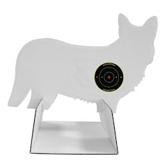Birchwood Casey Freedom Targets 12x18 Inch Coyote Silhouette Target Image