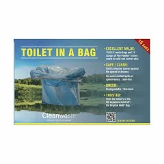 Cleanwaste Toilet In A Bag (15 Pack) Image