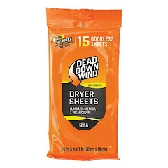 Dead Down Wind Dryer Sheets (15 Count) Image