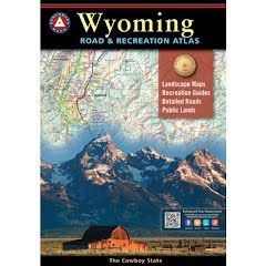Benchmark Maps Wyoming Road and Recreation Atlas Image