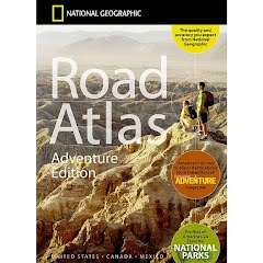 National Geographic Road Atlas: Adventure Edition (United States, Canada, Mexico) Image