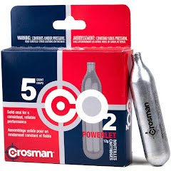 Crosman CO2 Powerlet Cartridges (5 Pack) Image