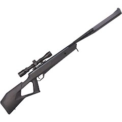 Crosman Trail NP Elite Stealth Black (.22) Air Rifle with 3-9x32mm Scope Image