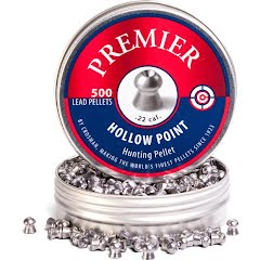 Crosman .22 Hollow Point 14.3gr Premier Pellets (500ct) Image