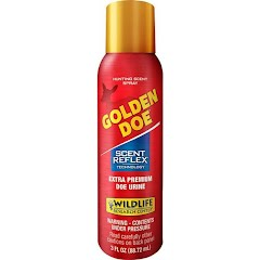 Wildlife Research Golden Doe with Scent Reflex Spray Can (3 oz) Image