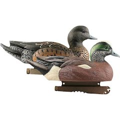 Avery Hunter Series Life Size Wigeon Duck Decoys (6 Pack) Image