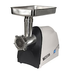 Weston Products #8 Heavy-Duty Electric Meat Grinder/Sausage Stuffer Image