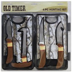 Schrade Knives Old Timer 4-Piece Hunting Kit Image