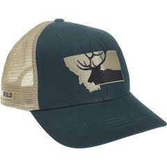 Rep Your Water Montana Wapiti Hat Image