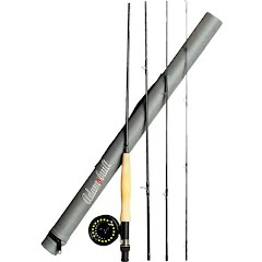 Adamsbuilt Youth 8ft, 4wt 4-Piece Fly Combo Image