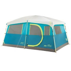 Coleman Tenaya Lake Fast Pitch 8-Person Cabin Tent w/ Closet Image