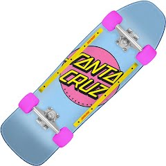 Santa Cruz Other Dot 80s Cruzer Skateboard Image