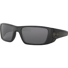 Oakley Fuel Cell Sunglasses (Matte Black/Grey Polarized) Image