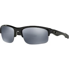 Oakley Bottle Rocket Sunglasses (Polished Black/Black Iridium Polarized) Image