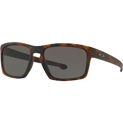 Oakley Sliver Sunglasses (Matte Brown Tortoise/Warm Grey) Image