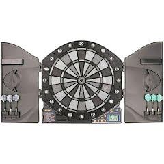 Accudart eX5000 Electronic Dartboard and Cabinet Image