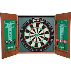 Franklin Bristle Dartboard with Cabinet Image
