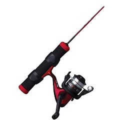 Shakespeare Fuel Ice 27 Inch Ice Spinning Combo (Light Rod Power)