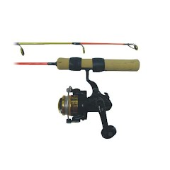 Ht Enterprises 25 Medium Action Extreme Ice Rod and Reel Combo Image