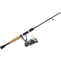Zebco Spyn 6ft, 6in, 2-Piece Spinning Combo Image