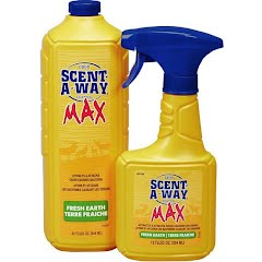Hunter Specialties Scent-A-Way MAX Fresh Earth Spray 44oz Combo Image