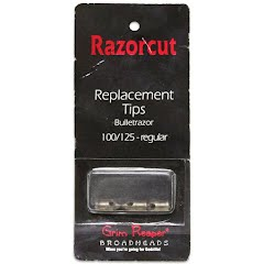 Grim Reaper Razorcut BulletRazor 100/125 Grain Replacement Tips (3-Pack) Image