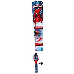 Shakespeare Spiderman 2ft, 6in, 1-Piece Spincast Tackle Box Kit Image