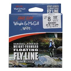 Eagle Claw General Purpose Weight-Forward Floating Fly Line with Backing Image