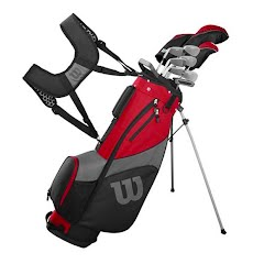 Wilson Sporting Goods Men's Profile Complete Golf Club Set with Carry Bag Image