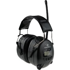 Radians AM/FM Digital Tuning Electric Earmuff with LCD Display Image
