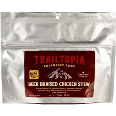 Trailtopia Bent Paddle Beer Braised Chicken Stew Image