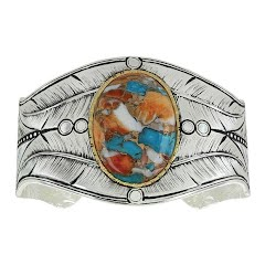 Montana Silversmiths Nature's Turquoise Cuff Bracelet Image