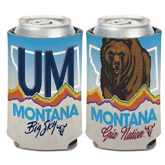 Wincraft University of Montana 12oz Can Cooler Image