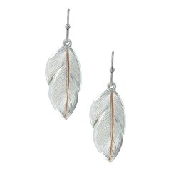 Montana Silversmiths Downy Feather Earrings Image