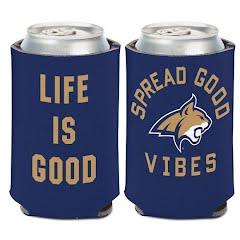 Wincraft Life Is Good Montana State Bobcats Can Cooler Image