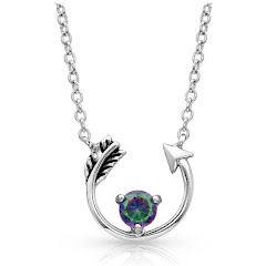 Montana Silversmiths Northern Lights Lucky Arrow Necklace Image