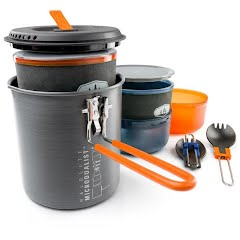 Gsi Outdoors Halulite Microdualist II Cookset Image