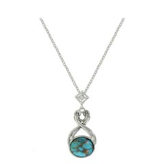 Montana Silversmiths Pursue the Wild High Spirits Turquoise Necklace Image