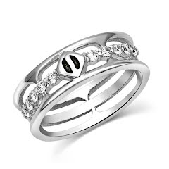 Montana Silversmiths Pursue the Wild Sign of Attraction Ring Image