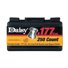 Daisy PrecisionMax 250 Count .177 Cal. Flat Nosed Pellets Image
